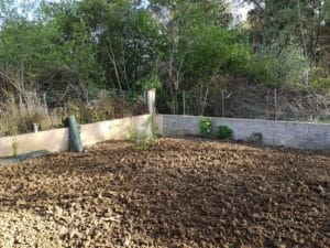 création d'un jardin sur la commune de Labastide St Sernin