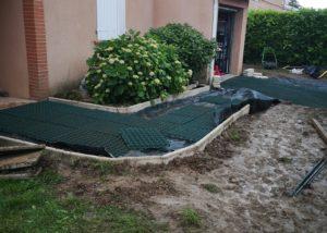 aménagement jardin entrée Toulouse